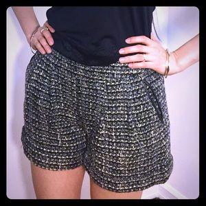 Catherine Malandrino Jamie Tweed Shorts